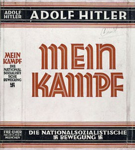 State Dept. Replaces Jen Psaki With Copy Of Mein Kampf
