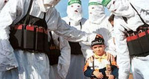 Child suicide bomber costume