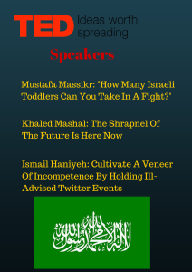 Hamas To Host TED Talk On Innovations In Suicide Bombing