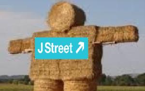 Wet Winter Threatens J-Street's Supply Of Straw Men