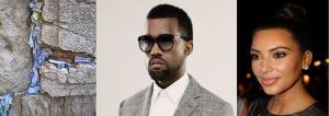 Kim/Kanye Visit Makes Wall Actually Wail