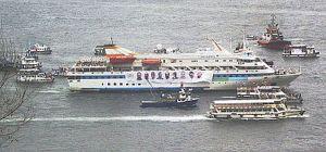 Mavi Marmara in Istanbul
