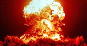 Nuclear explosion 1953