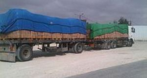 Truck Drivers Unloading Tons Of Food In Gaza Unaware Of Brutal Siege