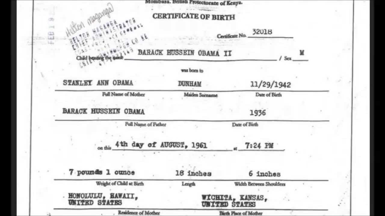 Secret Addendum To Iran Deal Just Obamas Kenya Birth Certificate