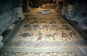 Ancient Mosaic Reveals Byzantines Were Made Of Tile, Mortar