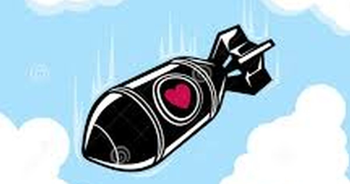 For Valentines Day Russia Dropping Heart Shaped Bombs On