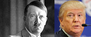 Hitler Accuses Trump Campaign Of Plagiarizing Nazi Playbook