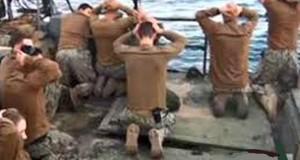 Iran naval hostages