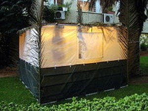 Order To Take Down Sukkah Within Two Weeks Appears Not To Trouble Local Jews