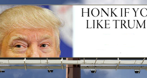 Berkeley Reduces Traffic Noise 90% With 'Honk If You Like Trump' Billboards