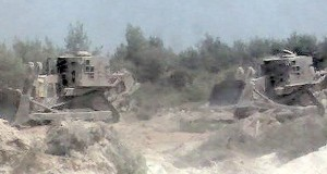 IDF Bulldozer Demolishes 'Breaking The Silence' Claims Of War Crimes
