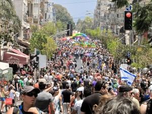 Tel Aviv Man Couldn't Tell Pride Parade Any Different From Normal Day