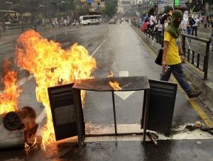 Caracas protest