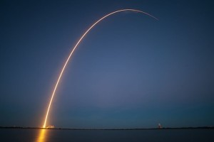 nighttime launch