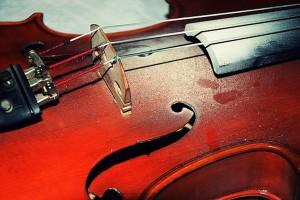 Scientists Create Quantum-Size Violin To Play For Palestinians