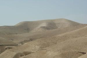 desert near Jericho